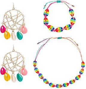 Free BSSN Natural Puka Shell Necklace Choker…