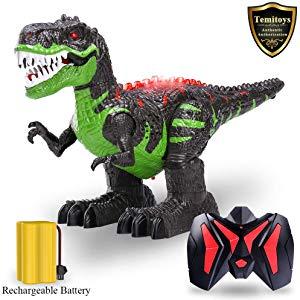 Free TEMI Remote Control Dinosaur for Kids...