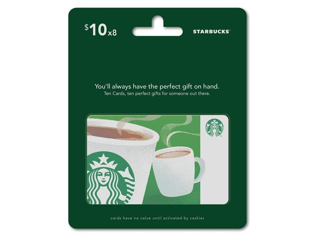 Grab A Free Starbucks Gift Cards Multipack!