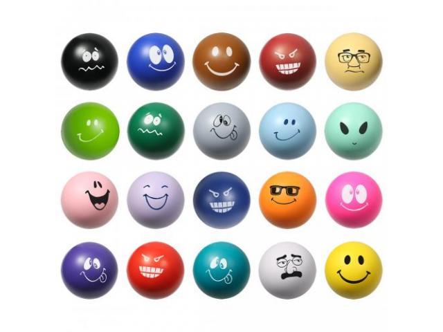 Grab A Free Emoticon Stress Ball!